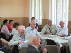 У залі засідань Десятих наукових читань ім. ак. Є. Лазаренка